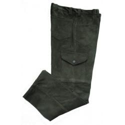 Menčestrové nohavice s bočným vačkom