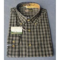Zelená kockovaná košeľa