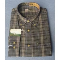 Flanelová košeľa zel.kocky