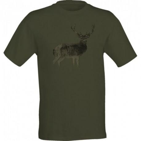 Tričko M2 jeleň