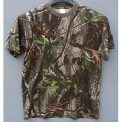Tričko hardwood KR - zel.vzor