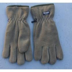 Zateplené flísové rukavice