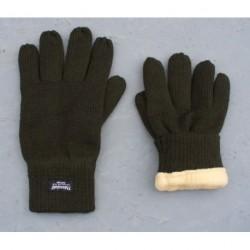 Zateplené 5 prstové rukavice