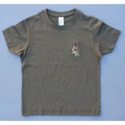 Detské tričko S - srnec B