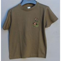 Detské tričko S - kačky